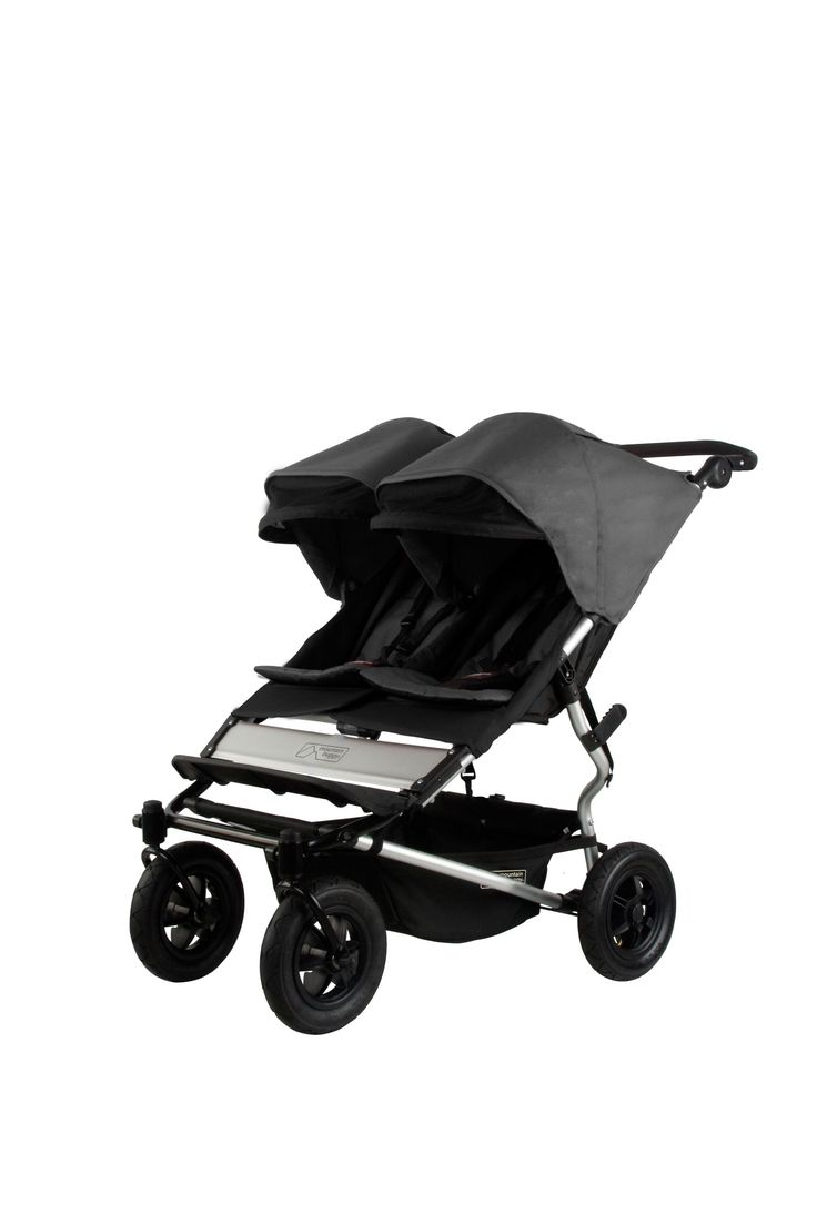 Mountain Buggy Duet Double Buggy - Flint