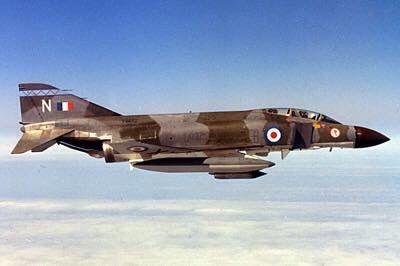 McDonnell Douglas Phantom F4 Phantom II RAF (1970s)