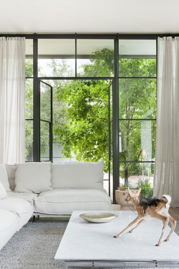 doors | Hecker Guthrie Carlton Residence via the design files
