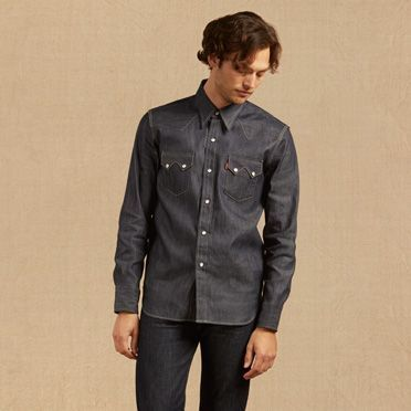Levi's 1955 Sawtooth Denim Shirt - Men's S