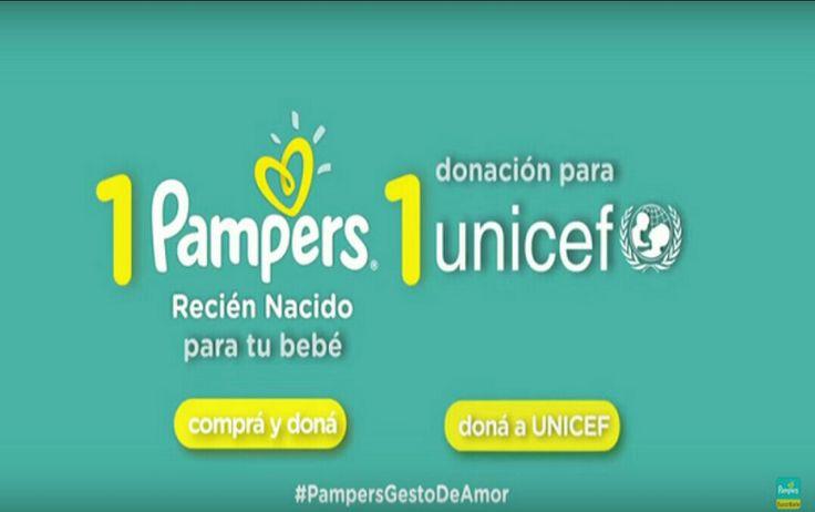 A través del programa Pampers-UNICEF 1 paquete = 1 vacuna, Pampers está apoyando a UNICEF para eliminar el tétanos en madres y recién nacidos, una enfermedad que cuesta la vida de 49,000 recién nacidos cada año (o un recién nacido cada 11 minutos). Con la ayuda de todas las personas en el mundo que compran Pampers, ya hemos donado fondos para 300 millones de vacunas, que ayudan a proteger a 100 millones de mujeres y sus recién nacidos, y hemos ayudado a eliminar la enfermedad en 15 países.
