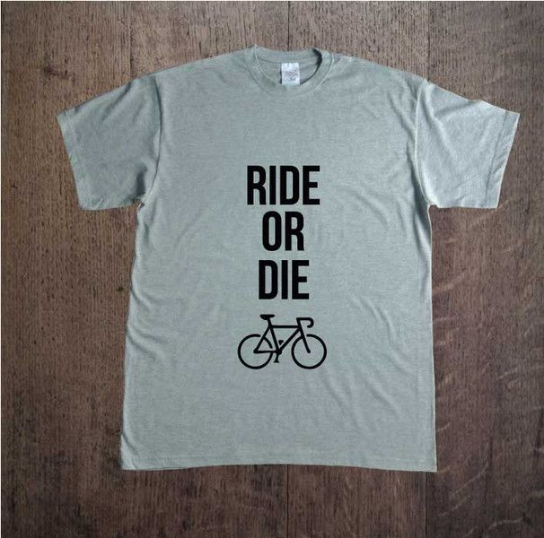 Ride+or+die,+Męska+koszulka+z+nadrukiem,+w+DDshirt+na+DaWanda.com