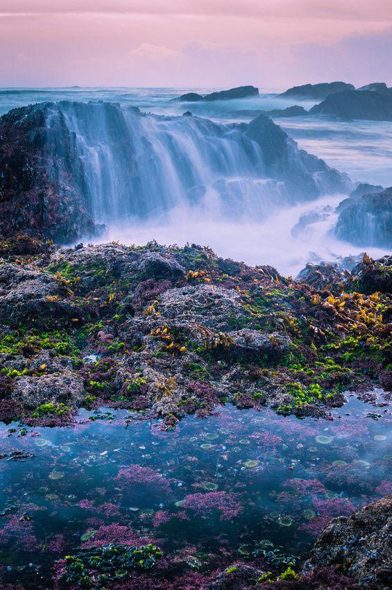 Low Tide Waterfall