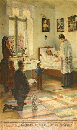 Vincent Bánsághi - Salbung ihn mit Öl in dem Namen des Herren