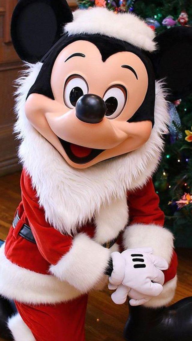 Santa Mickey Mouse