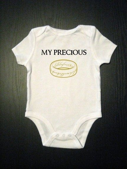 Lord of the Rings - I should get this for Misty's baby :)