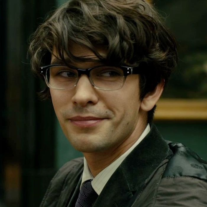 English Actor Ben Whishaw - For some reason he makes me think of one of the Herman's Hermits. Aging myself here xD