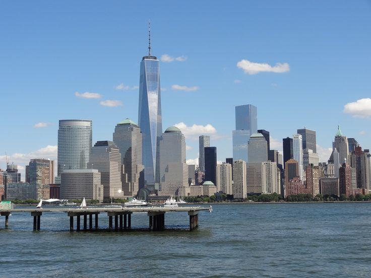 Manhattan skyline from Jersey City.
