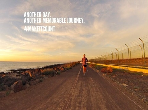 Another day. Another memorable journey. #run #fitness #exercise #MakeItCount
