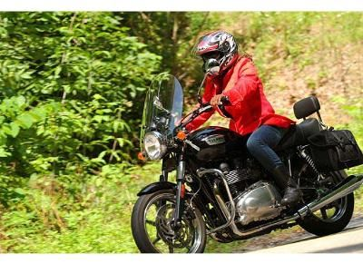 Picture Was Taken While I Was Taming the Dragon: I have two bikes.  I have a 2000 Ducati Monster 750, which I have owned since 2000 and put over 20,000 miles on it.  For the age of the bike, I feel I