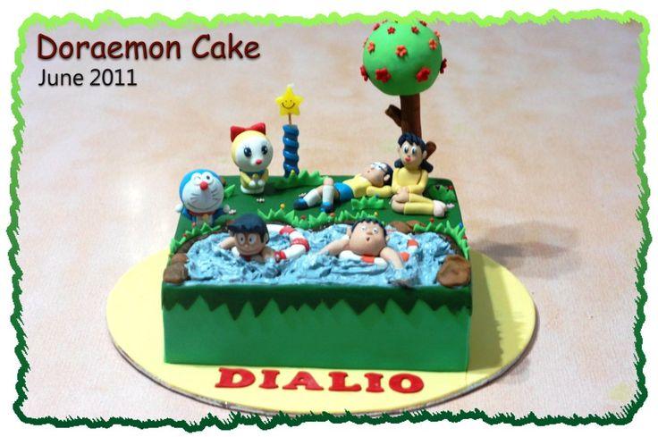 Doraemon Cake – Honey's Mini Cakes