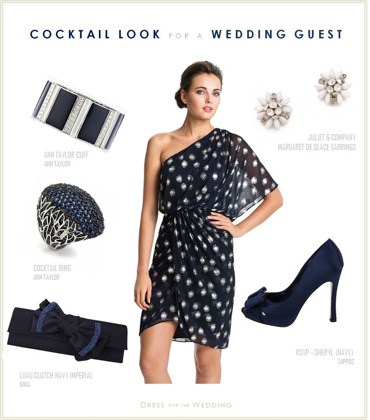 Cocktail Dresses For Weddings Guest | ... Dress For A Wedding Guest Navy_Cocktail.pptx – Dress For The Wedding
