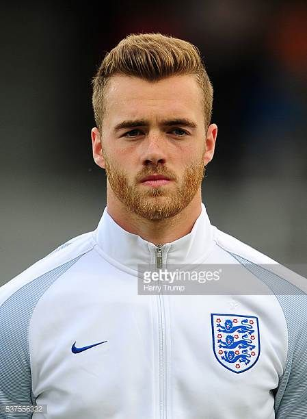Calum Chambers of England during the Final of the Toulon Tournament between England and France at Parc Des Sports on May 29 2016 in Avignon France