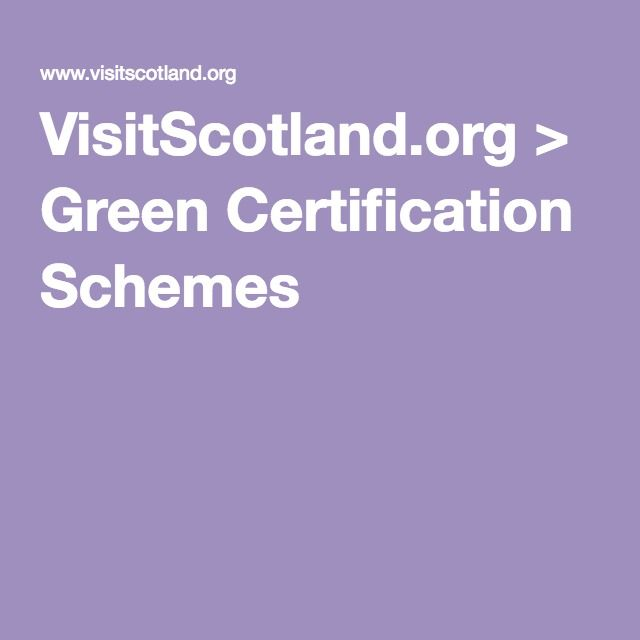 About Green Certification system. This will help me understand how does it work and describe the system in my epub.