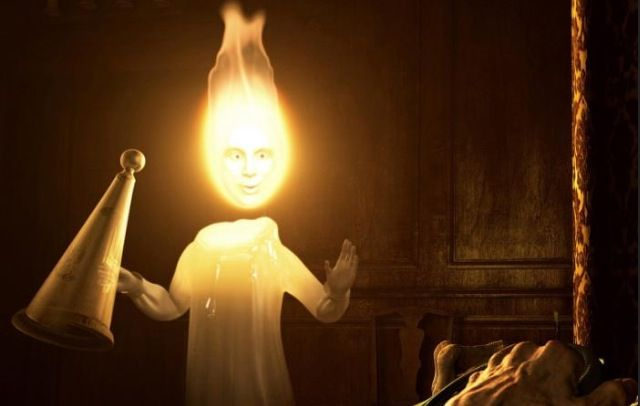 9 best christmas carol images on pinterest christmas carol ghost ghost of christmas past illuminating past events in dim candlelight fandeluxe Choice Image