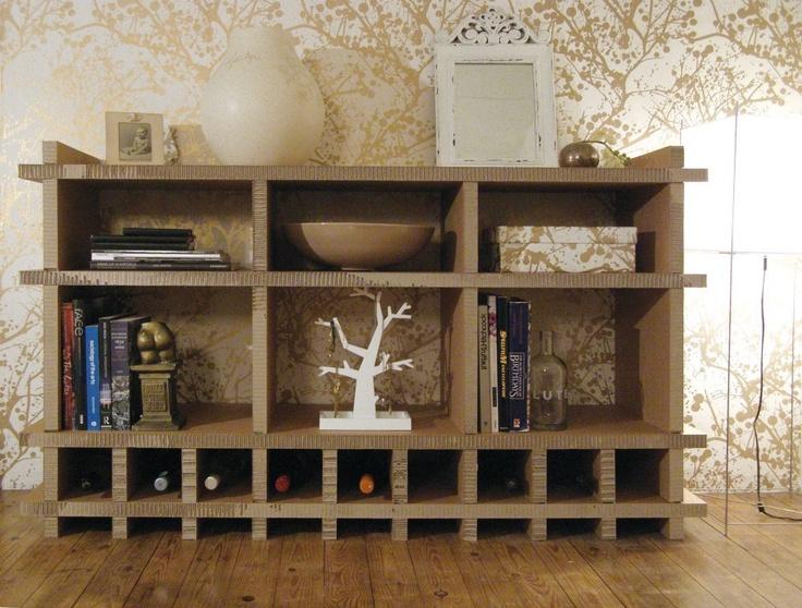 17 best images about meubles en carton on pinterest. Black Bedroom Furniture Sets. Home Design Ideas