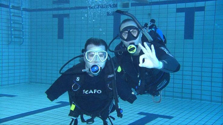 Pessoas com deficiência também mergulham ! - Mergulho No Japão - Coral Diving