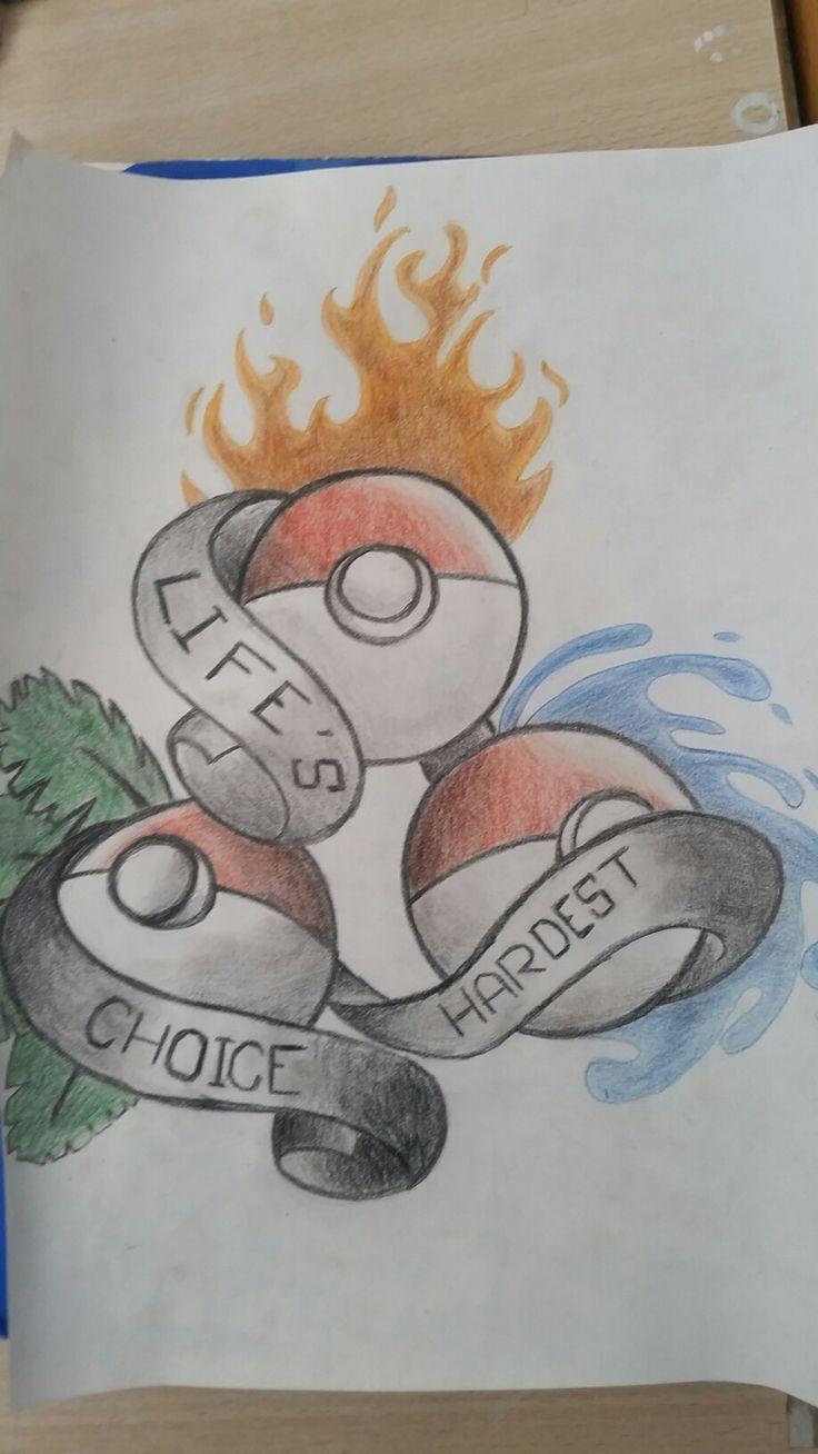 Pokemon-life's hardest choice