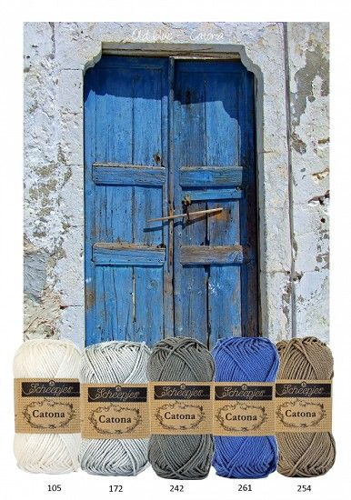 Kleurenpallet Catona - Color Yourlife - Old Blue HobbyVision- (web)winkel voor scrappen, kaarten en meer!