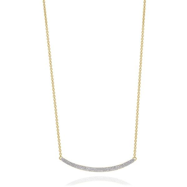 MONICA VINADER Skinny Curve Necklace ($712) ❤ liked on Polyvore featuring jewelry, necklaces and monica vinader