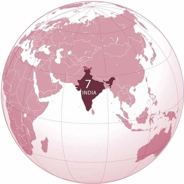 The 25 best india world map ideas on pinterest france world map india world map by ssolbergjwikimedia created with the generic mapping tools gumiabroncs Gallery