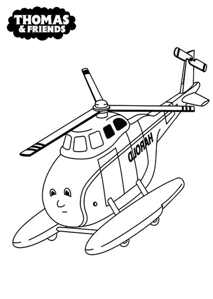 harold | thomas and friend coloring pages | pinterest - Thomas Friends Coloring Pages