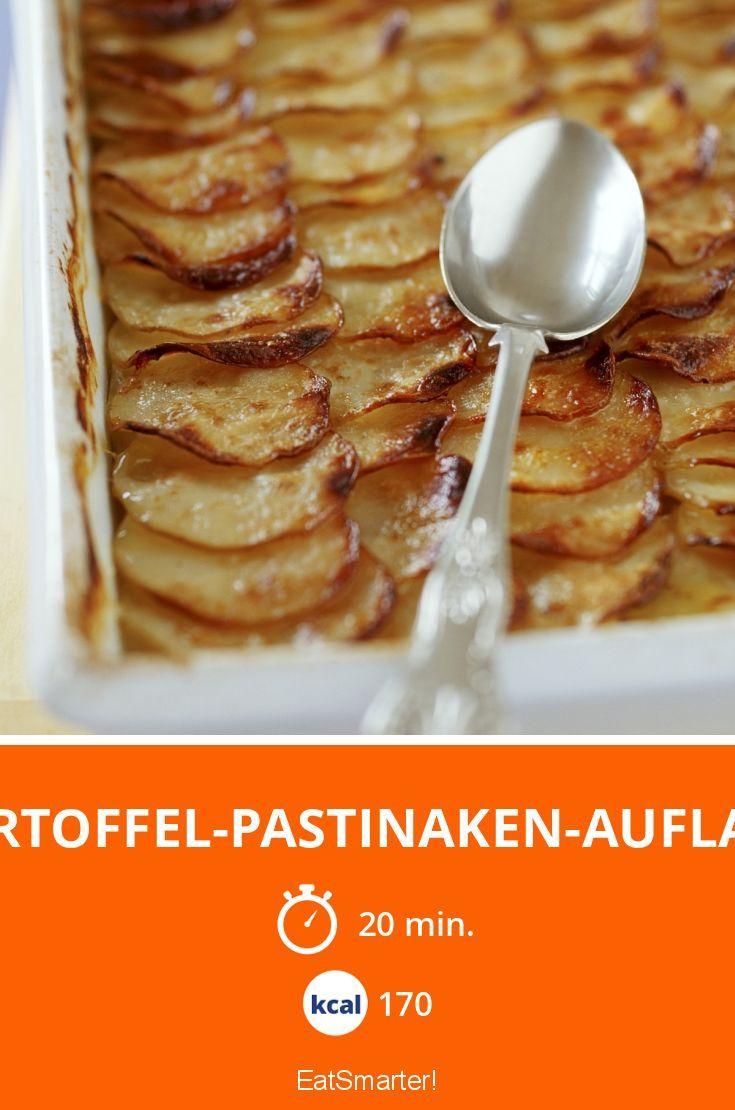 Kartoffel-Pastinaken-Auflauf - smarter - Kalorien: 170 kcal - Zeit: 20 Min.   eatsmarter.de