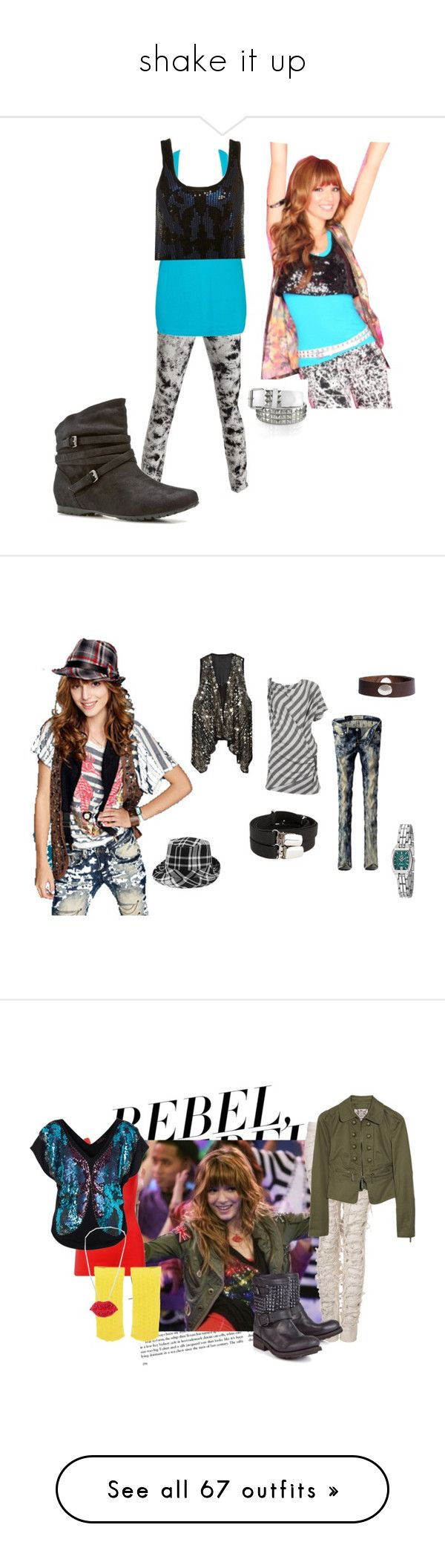 """""""shake it up"""" by amandawoelck ❤ liked on Polyvore featuring James Jeans, Forever 21, Topshop, CeCe, Report, Disney, Anna Sui, Metropark, Othermix and BKE"""