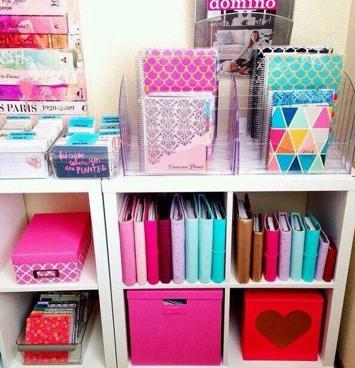 Imagem de school, pink, and organization