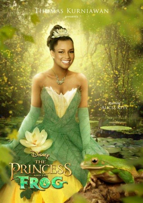 Alicya Keys Es La Princesa y el Sapo