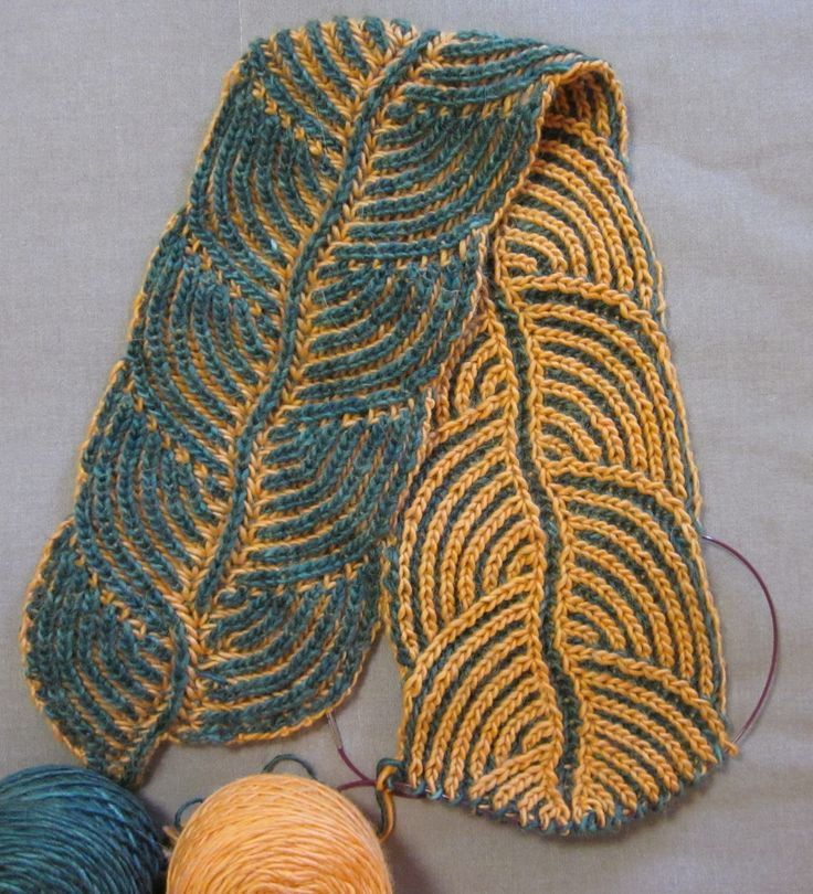 brioche knitting - I need to learn how to do this!