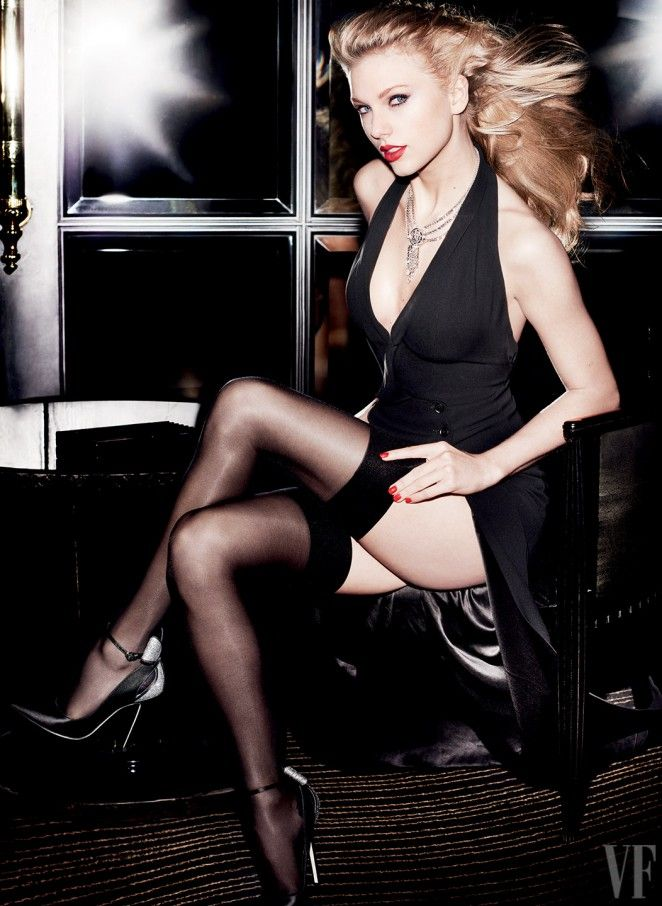 Pop princess of the moment Taylor Swift is featured as the glamorous cover star of Vanity Fair's September 2015 issue. The music artis...
