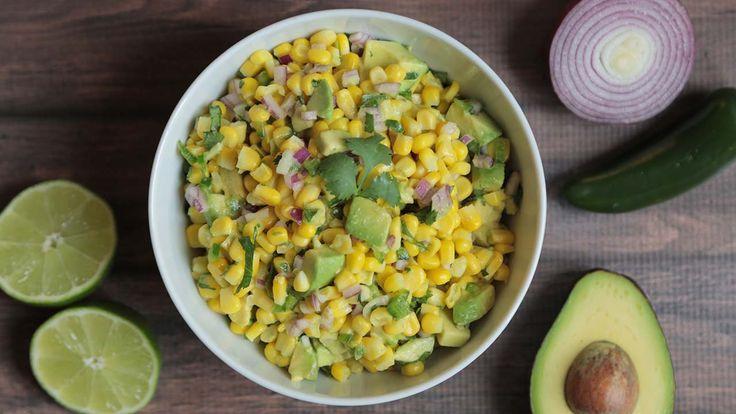 Corn & Avocado Salsa