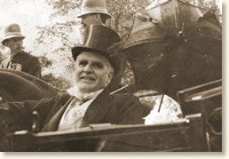 President McKinley 15 minutes before he was shot, Sept, 1901. He died 8 days later.
