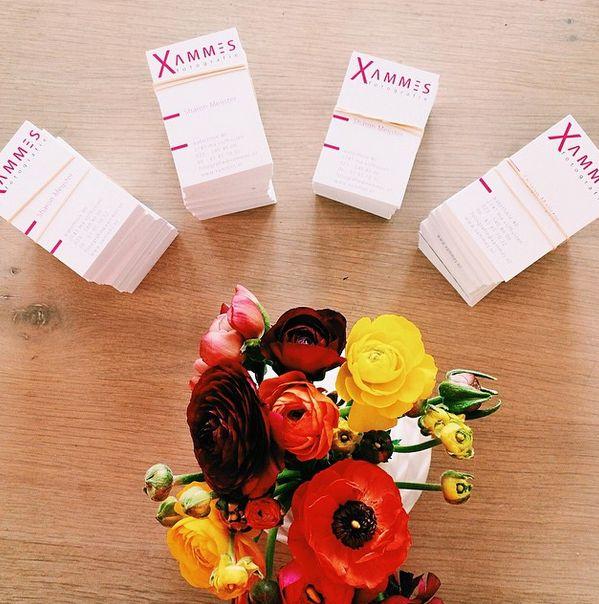 Mooie visitekaartjes mogen drukken voor Xammes Fotografie!  Geupload én gedrukt door https://www.reclameland.nl