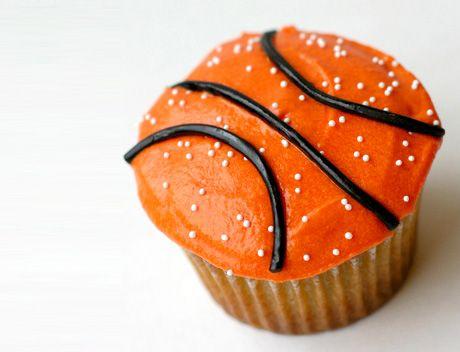 Basketball Cupcake! #MarchMadness