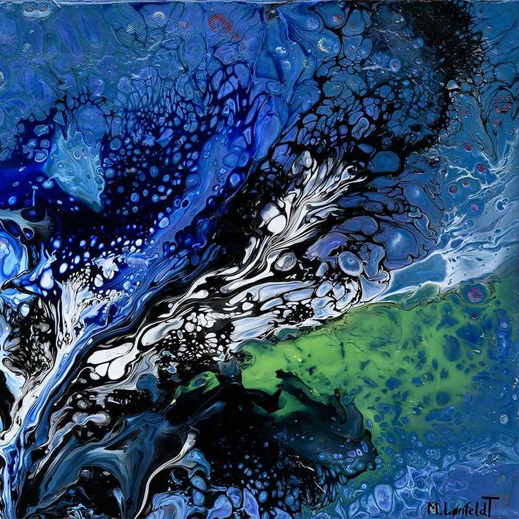 NEW PAINTING  Elemental IV  30x30 cm  My website: https://artbylonfeldt.dk/  #art #arts #paintings #painting #fineart #artbylonfeldt