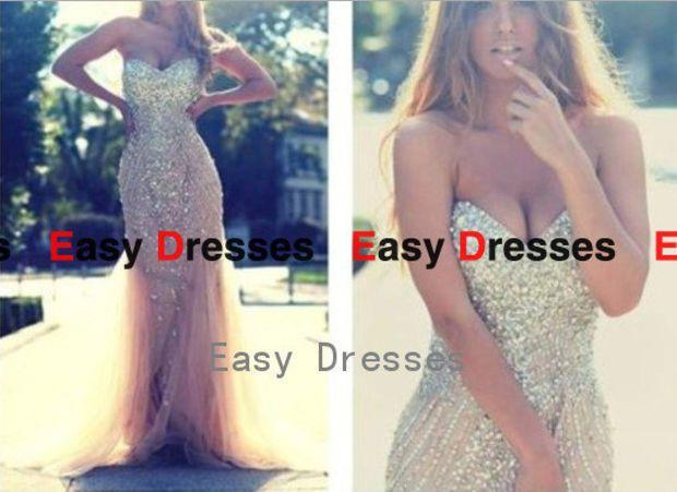 Sweetheart dress ,sexy dress Prom dress Bridesmaid dress Fashion dress Party Evening Dresses 2014