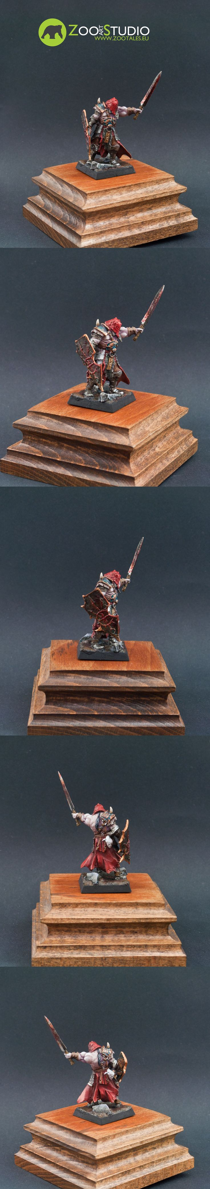 Marauder Warlord, Avatars of War Painted by Bear from Zoo Art Studio