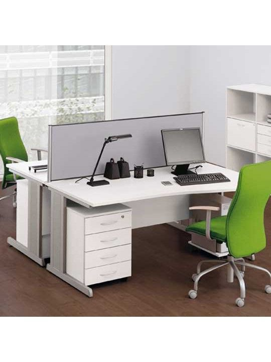 OPTIMA 2 Drawer Under Desk Pedestal With Filing by Narbutas