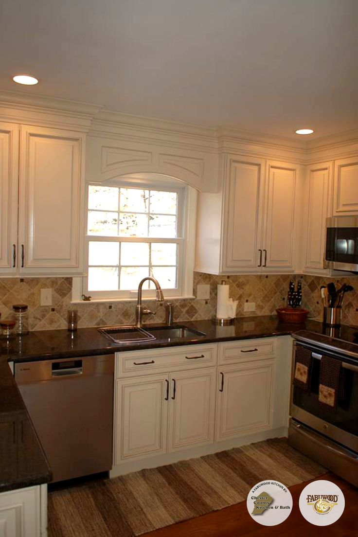 8 best Fabuwood Wellington Kitchen in Ivory Glaze Completed by DK ...