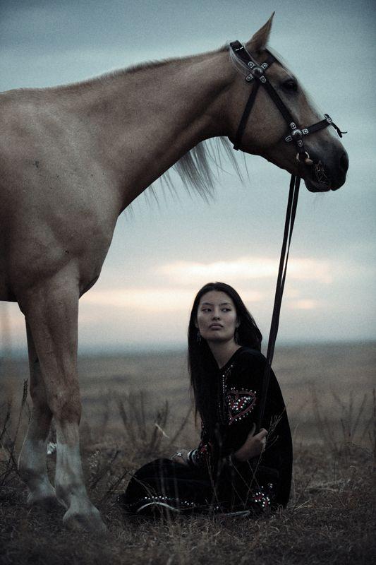 Horse walk by Arman Zhenikeyev