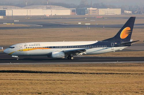 Boeing 737 Jet Airways vt-jnz
