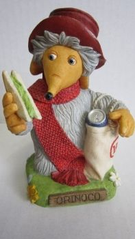 Kunstharz Figur The Wombles Collection Orinoco Wombels 11 cm