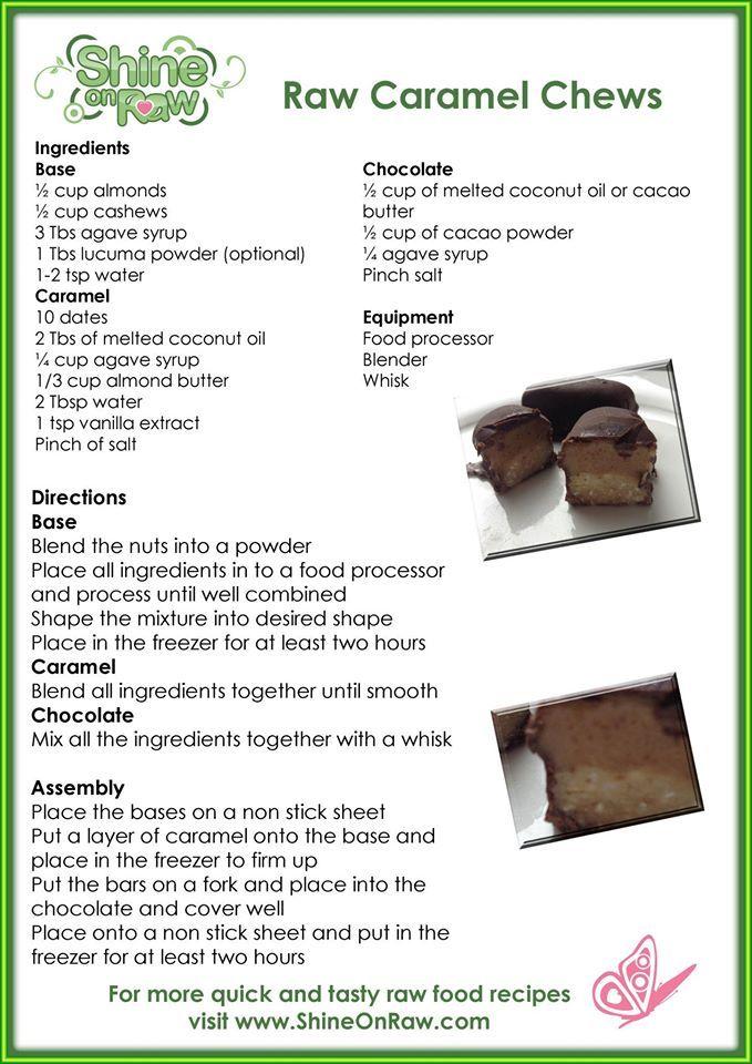 Raw Caramel Chews