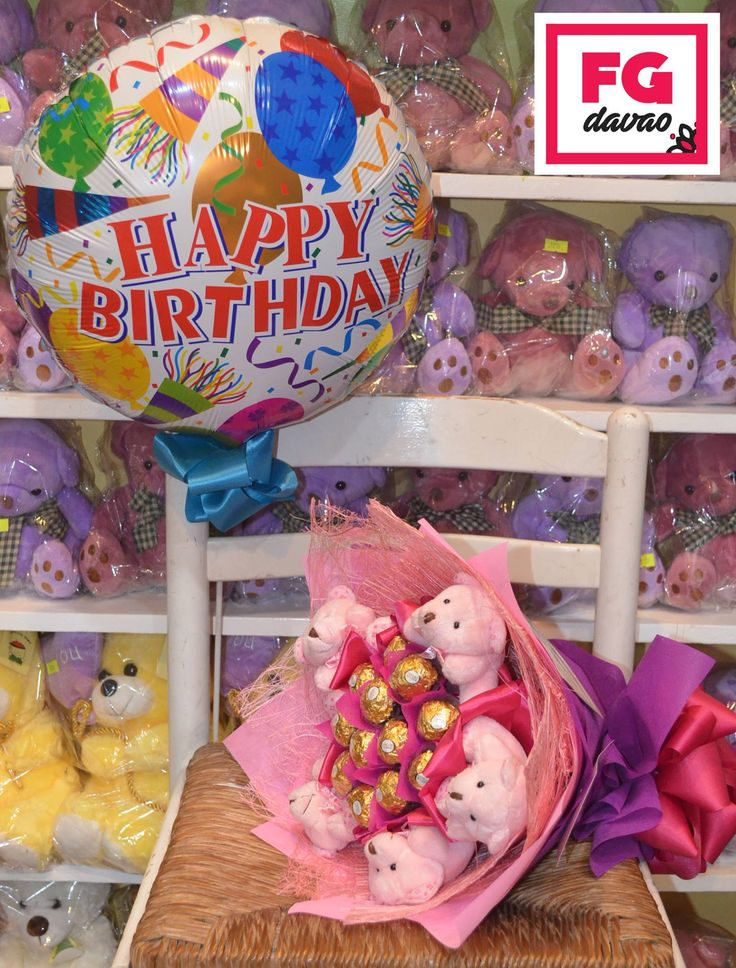 Chocolate Bouquet and Balloon  Flowers Gifts Delivery www.FGDavao.com 0998 579 5720  #chocolatebouquet #bouquetofchocolates #tinybears #cute #uniquet #gift #surprise #love #sweets #sweetgift #sweetsurprise #stuffedtoys #stuffedtoybouquet #gifts #giftshop #giftdelivery #fgdavao #ph #arts #crafts #chocolates