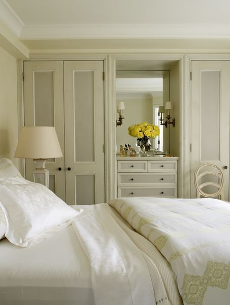 creamy bedroom ~ Christopher Maya design