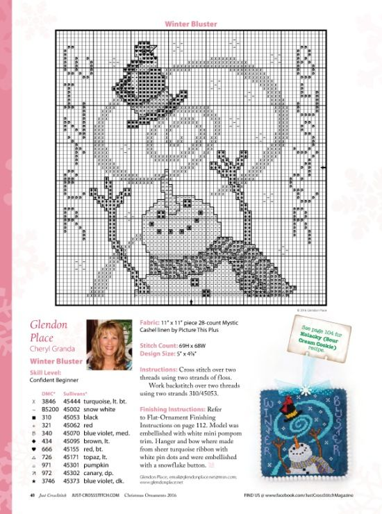 (2) Gallery.ru / Фото #36 - Just Cross Stitch-Vol.34,N°6-Special Holiday Issue-Christmas - tymannost