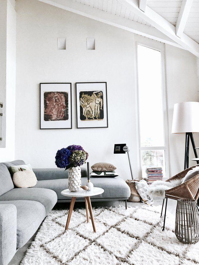 Lieblingsecke... | Foto von Mitglied AlMaKa  #SoLebIch #wohnzimmer #livingroom #hortensien