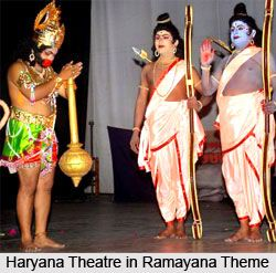 The traditional folk theatre in Haryana dates back to the 16th century, which is a combination of music, dance, poetry. for more visit the page. #haryana #drama #theater